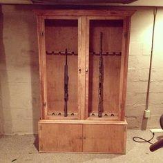 Fresh 20 Gun Cabinet Plans