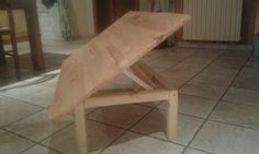 Table basse a puzzle