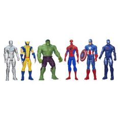 Get ready for super hero adventures with the Marvel Universe Titan Series collection