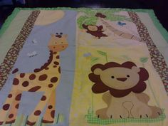 Baby Jungle Blanket