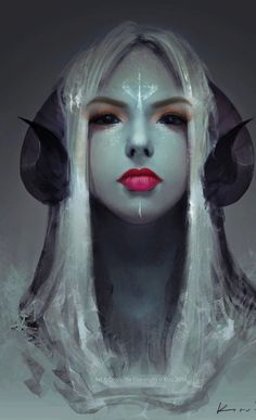 """""""Stare"""" by keerou dnd characters, fantasy characters, character inspiration, fantasy inspiration Fantasy Kunst, Fantasy Art, Fantasy Gifts, Fantasy Creatures, Mythical Creatures, Fantasy Inspiration, Character Inspiration, Character Portraits, Character Art"""