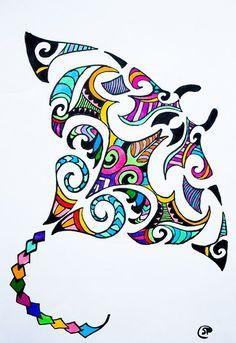50 Ideas maori art - 50 Ideas maori art for kids ideas tattoos for m. - 50 Ideas maori art – 50 Ideas maori art for kids ideas tattoos for men tat - Maori Designs, Manta Ray Tattoos, Stingray Tattoo, Maori Symbols, Maori Patterns, Zealand Tattoo, Mandala, Polynesian Art, Nz Art