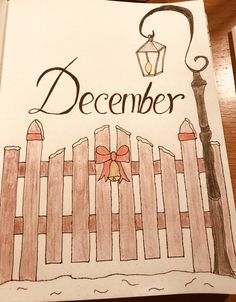 Christmas Bullet Journal December