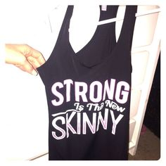 Black tank gym top Black tank gym top, brand new never worn Tops Muscle Tees
