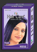 Purple Henna Hair Color