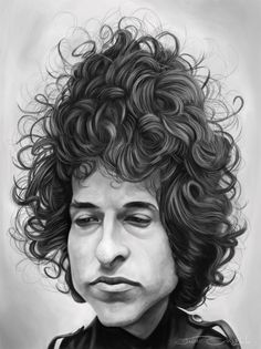 Bob Dylan (by Jaume Cullell)