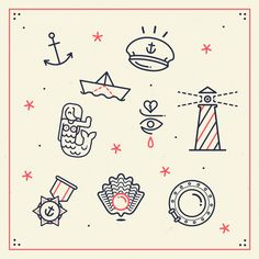 Ahoy! by LORENA .G, via Behance