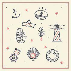 Ahoy! by LORENA .G, via Behance