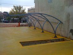 Kotsioudis - Metal Contructions Garden Bridge, Competition, Outdoor Structures, Metal, Metals