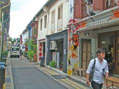 Singapore's Haji Lane