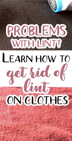 If you like sewing DIY clothes you have to know how to get rid of lint and deal with fabric problems. Fabric pilling (or lint) is ugly and make an otherwise fashionable clothes look old and shabby. Luckily, there are many ways to get rid of lint balls on clothes, blankets, towels, even black pants. Learn the best way to get rid of lint and how to prevent fabric pilling using commercial products or regular household items.