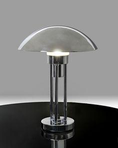 Art Deco table lamp mushroom Claude