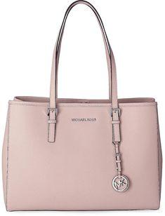 Tasche JET SET TRAVEL von Michael Kors in rosa für Damen. Gr. 1