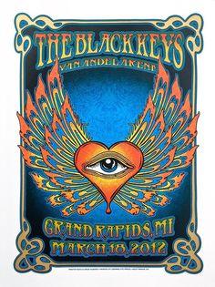 The Black Keys (concert posters  - 74)