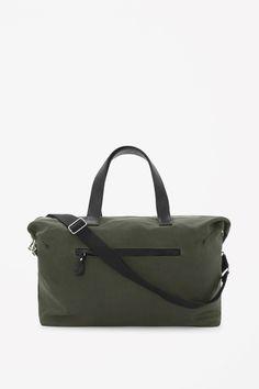 COS | Canvas weekend bag