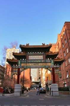 China Town, Manchester, England