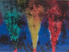 """James Rosenquist (B. 1933) """"Night Smoke II"""""""