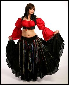 804a1bf99491b RENAISSANCE PIRATE BELLY DANCE TRIBAL GYPSY STEAM PUNK COSTUME HIP BELT.  YES!
