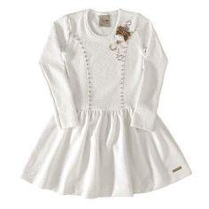 Vestido com aplicação de mini pérolas 4907 Kids Fashion, Blouse, Pasta, Blazer, Clothes, Design, Women, Girl Clothing, Kid Models