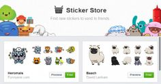 facebook stickers store free: facebook stickers store free