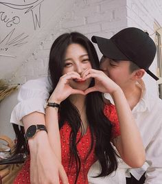 Image about love in ☄⚡Ulzzang⚡☄ by Daisy on We Heart It Girl Couple, Sweet Couple, Ulzzang Couple, Ulzzang Girl, Cute Couples Goals, Couple Goals, Couple Aesthetic, Korean Couple, Couple Outfits