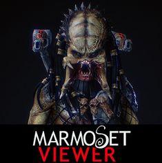 Marmoset Viewer  FanArt - Predator, YOSUKE ISHIKAWA on ArtStation at https://www.artstation.com/artwork/pre