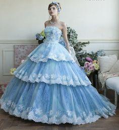 カラードレス シンデレラ 35008 | ウエディングドレス レンタルの愛ロイヤルウエディングトップ