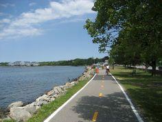 East Bay Bike Path, Bristol, RI