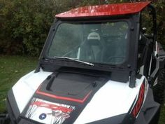 RZR XP1000 and 2015-16 RZR 900, 2016 RZR-S 1000 Laminated Safety Glass Windshield with Wiper pn# 12383