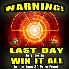 Last day to win it all