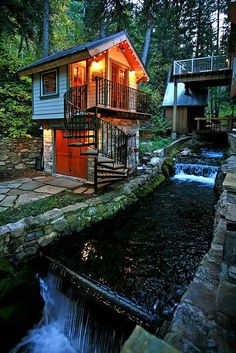 Storybook Stone Cottage by stewartmountainlodging, via Flickr