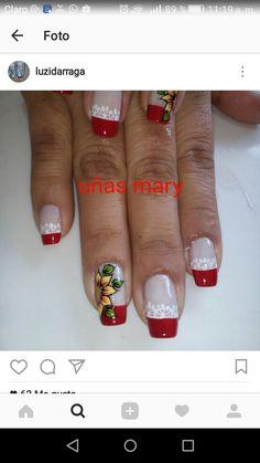 Christmas Nail Art Designs, Christmas Nails, Cute Nail Art, Cute Nails, Oh Beautiful, Fabulous Nails, Nail Arts, Hello Everyone, All The Colors
