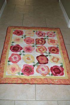 in batiks. Batik Quilts, Rag Quilt, Scrappy Quilts, Easy Quilts, Quilt Blocks, Quilt Patterns Free, Applique Patterns, Applique Quilts, Quilting Projects