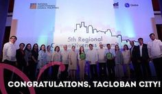 Tacloban City was declared as one of the most competitive cities in the Philippines, as well as one with the most improved local government units (LGUs) at the 5th Annual Regional Competitiveness Summit held at the PICC Complex. Congratulations to Mayor Cristina Gonzalez-Romualdez and the city I am proud to call home. @cristinagonzalezromualdez