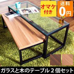 10,800 円 ガラスネストテーブルDouble