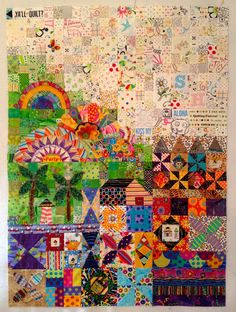 Susan's Quilt Creations: Parts 4, 5 & 6 of My Small World