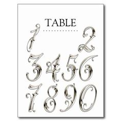 Beautiful number font | numero uno | Pinterest | Fonts, My ...