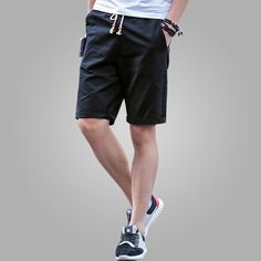 HENGAO Mens Casual Workout Athletic Gym Jersey Shorts