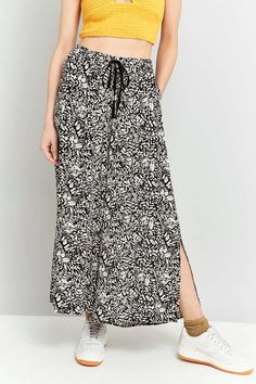 Staring At Stars Floral Boho Crinkle Culottes - Urban Outfitters