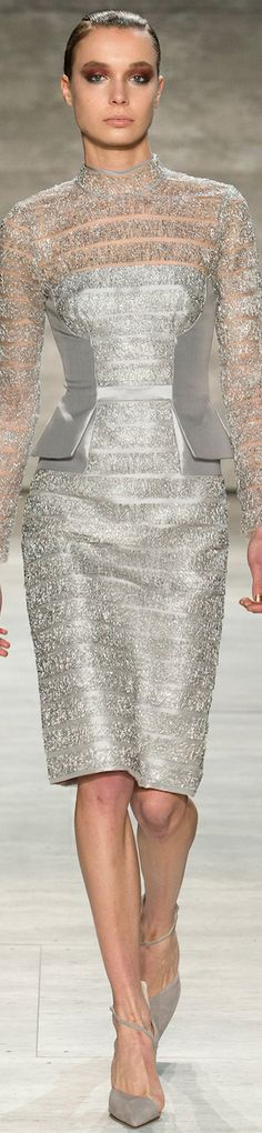 Bibhu  Mohapatra Fall 2014 RTW LBV. My next life as a socialite, this is the IT dress for me.