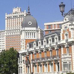 Vista desde o Palacio Real en Madrid