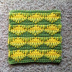 Taraduff's crochet and other stuff: Sampler Afghan Square #8