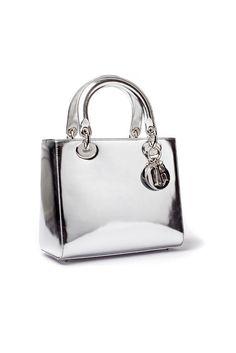 Dior-  Lady Dior bag silver
