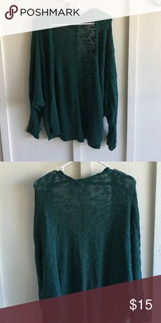 Sparkle &a fade sheer knit cardigan Sparkle and fade sheer open front cardigan Sparkle & Fade Sweaters Cardigans
