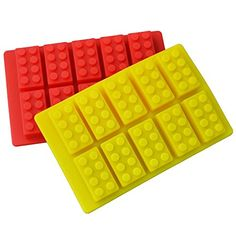 #PopularKidsToys Just Added In New Toys In Store!Read The Full Description & Reviews Here - 2 x Building Bricks Silicone Mould - You get two brick moulds with this set.. These silicone baking moulds feature 10 brick impressions on each. Great for use as cupcake toppers, ice, chocolate or anything else you can think of! Brick size is: 5cm x 2.8cm x 2cm.  Condition: New Product Type: Silicone Mould Size: 18.8cm x 11.8cm x 2cm Theme: Birthday Material: Food Grade Silicone  Baker