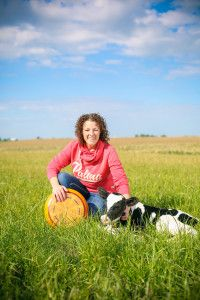 Marieke Penterman with one of her babies and her Gouda #Cheese #EatLiveLoveCheese http://www.marcellathecheesemonger.com/2015/01/22/meet-2013-u-s-cheese-championship-grand-champion-marieke-penterman/