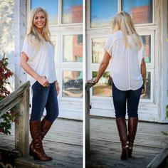 Look effortlessly fabulous in this trendy top from Lush! Wonderful fit, classic style and comfy! S.M.L $34