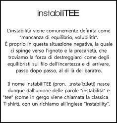 "cosa significa ""instabiliTEE""?"