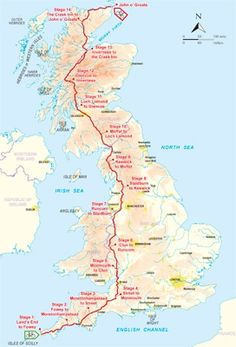 End to End Cycle (LEJOG) - Land's End to John o' Groats - Maps and Photos - Cicerone