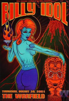 Concert posters encapsulate a band's attitude and tone. With a stand-out artistic expression they always catch the eye. See more »